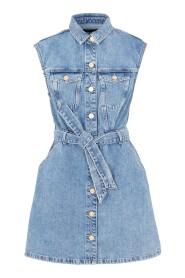PCNAMIR SL SHIRT DRESS MB BC
