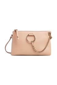 Faye soft zipped shoulder bag