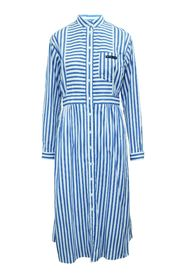 SS2020 Striped Cotton-poplin Maxi Dress