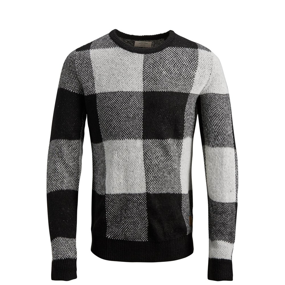 Knitted Pullover Patterned