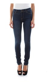 LEVIS 18881 0412 - 711 SKINNY JEANS Women DENIM DARK BLUE