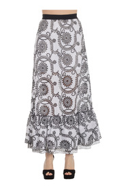 LONG EMBROIDERY SKIRT