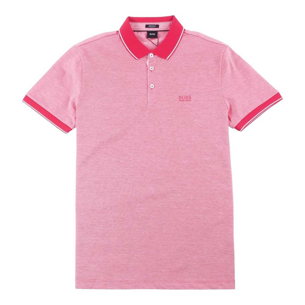 Regular Fit Mercherised Polo Red