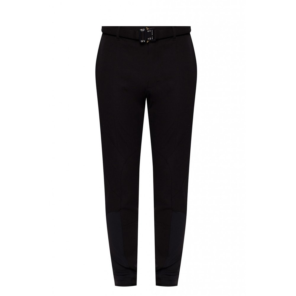BLACK Trousers with buckle detail  1017 ALYX  9SM  Byxor