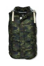Camouflage Vest Capuchon