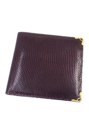Must De Cartier Lizard Leather Wallet