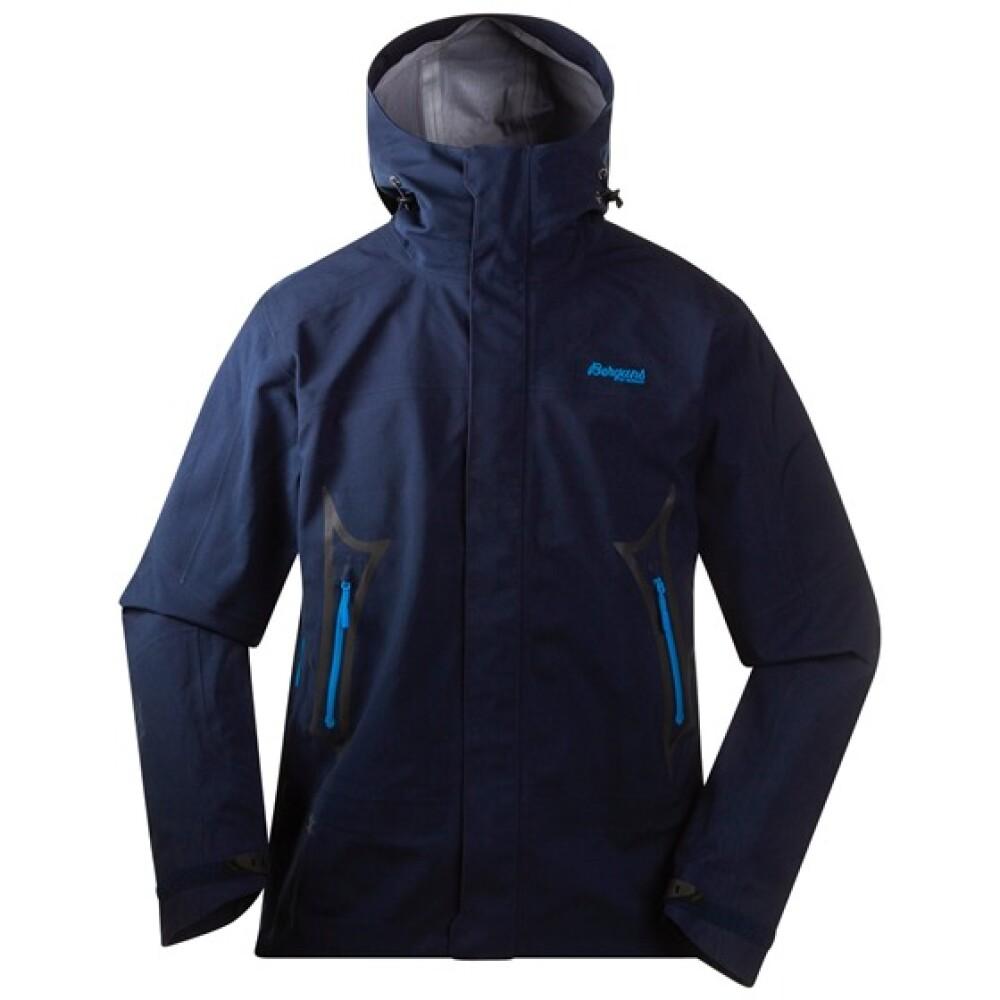 bergans vennesla jacket, bergans blå drange herre jakke
