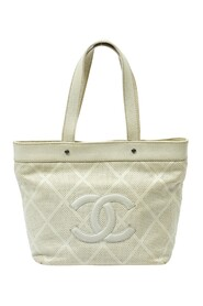 Pre-owned Front Logo Tote