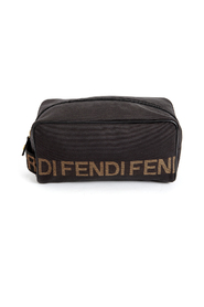 Pre-owned logo toilletbag