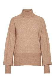 Yascindy Ls Rollneck Knit
