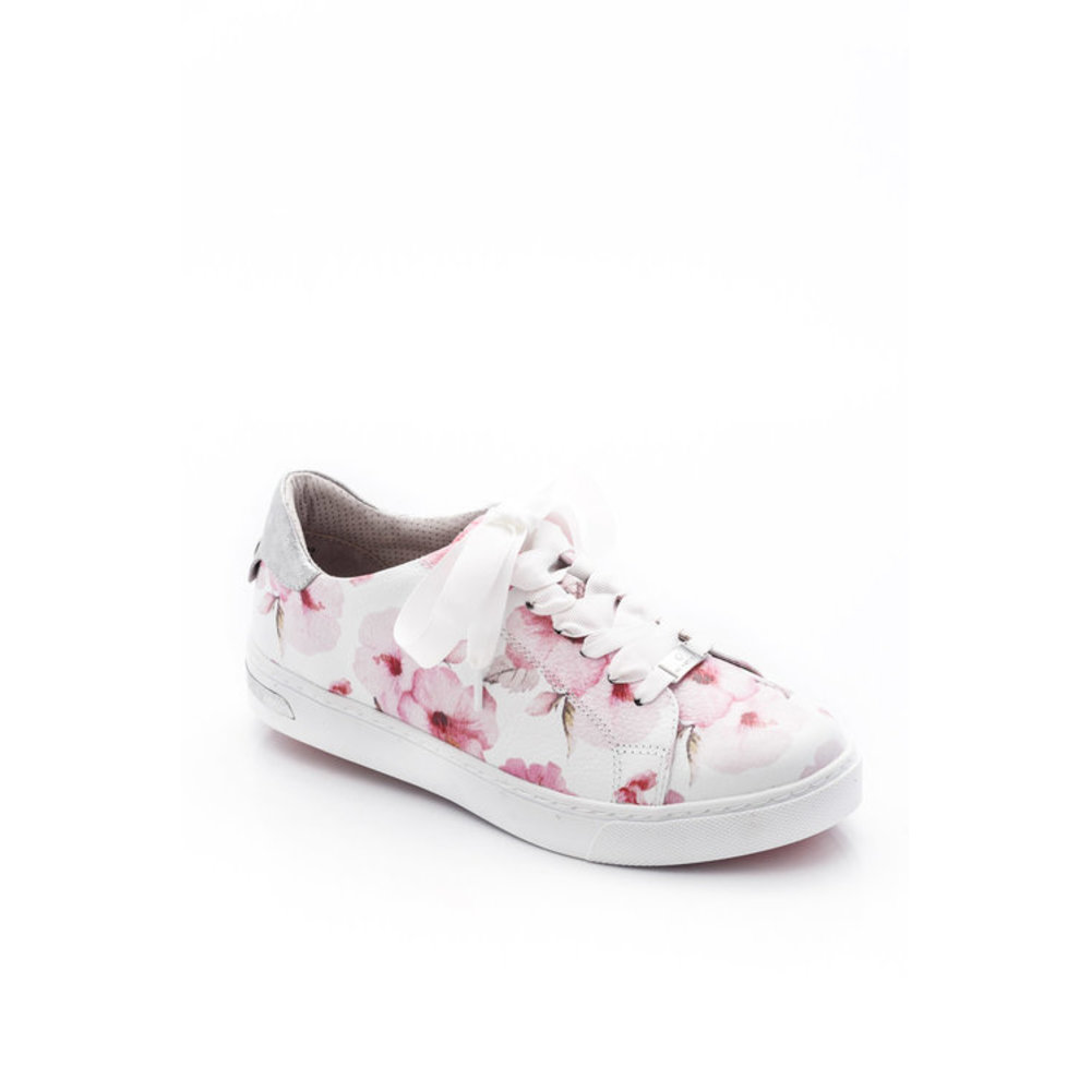 Jana Be Natural Rose Flower Sneakers