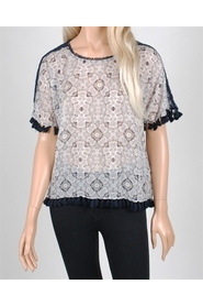 ANDERSON PRINTED BLOUSE
