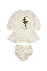 Dress and culotte with Polo Bear