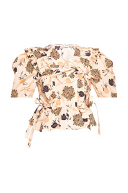 'Amata' patterned top