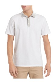 T-Shirt Contrast Front Collar Polo