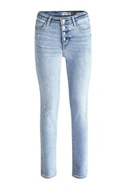 EXPOSED BUTTON MALIBU JEANS