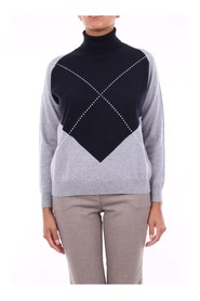 S99666F129D018 High Neck  Jumper