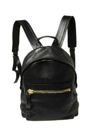 Grained Leather Buckley Backpack