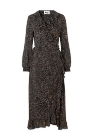 Imogene Maxi Wrap Dress