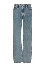 Mia HW Straight jeans wash Brighton