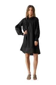 Henri Shirt Dress Black Beauty
