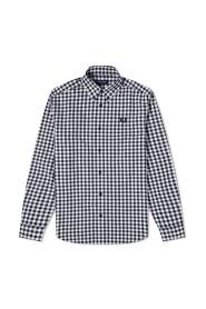 Autentyczne wciśnięty przycisk Plecionka Koszula