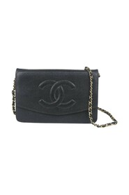 Pre-owned Wallet On Chain Crossbody Bag