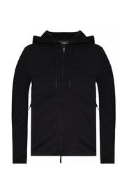Hoodie with stitching