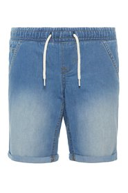 Denim shorts lightweight woven