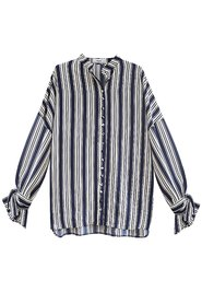 NANNA Striped Print Oversized Shirt