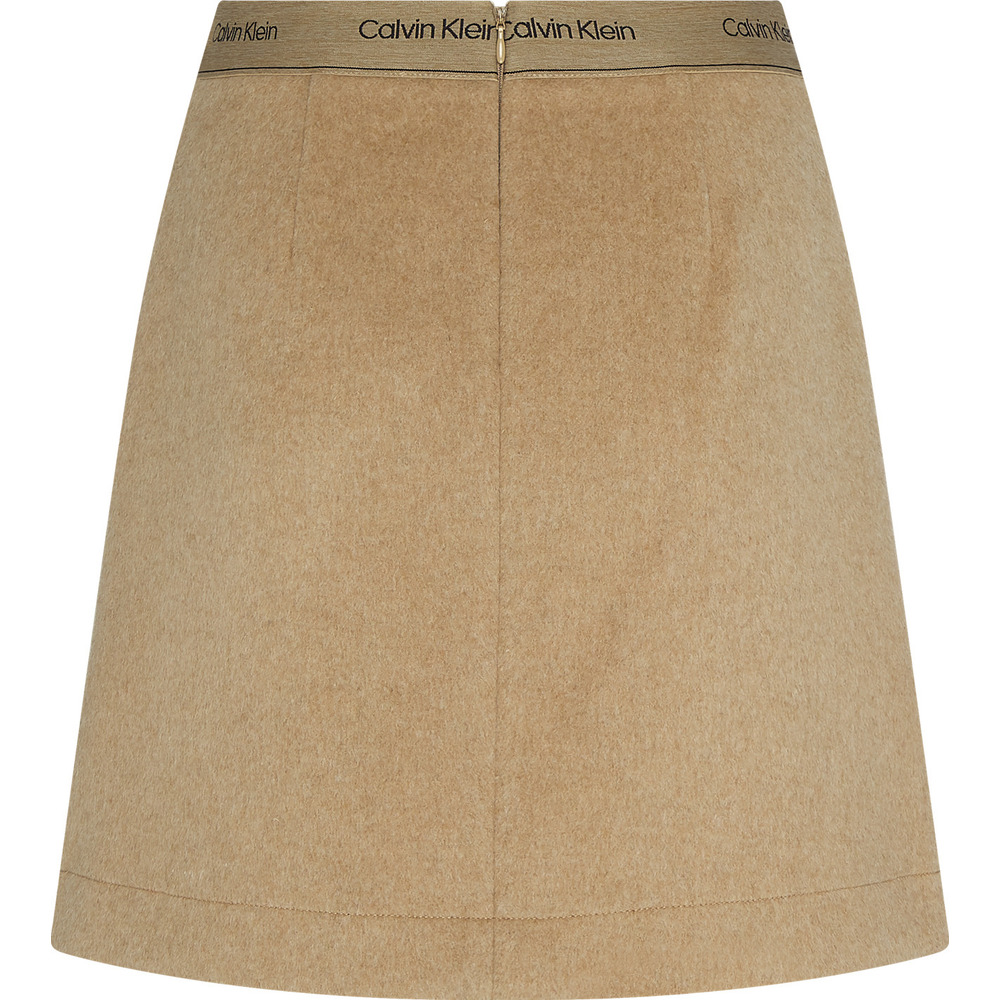 Calvin Klein DOUBLE FACE SKIRT