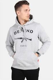 Defend Paris 75 Hood Grey
