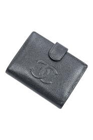 Pre-owned CC Timeless Bifold Compact Wallet