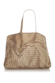 Pre-owned Intrecciolusion Satin Tote Bag