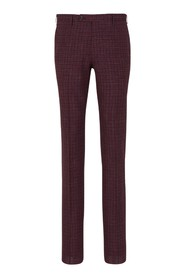 Checkered pattern Trousers
