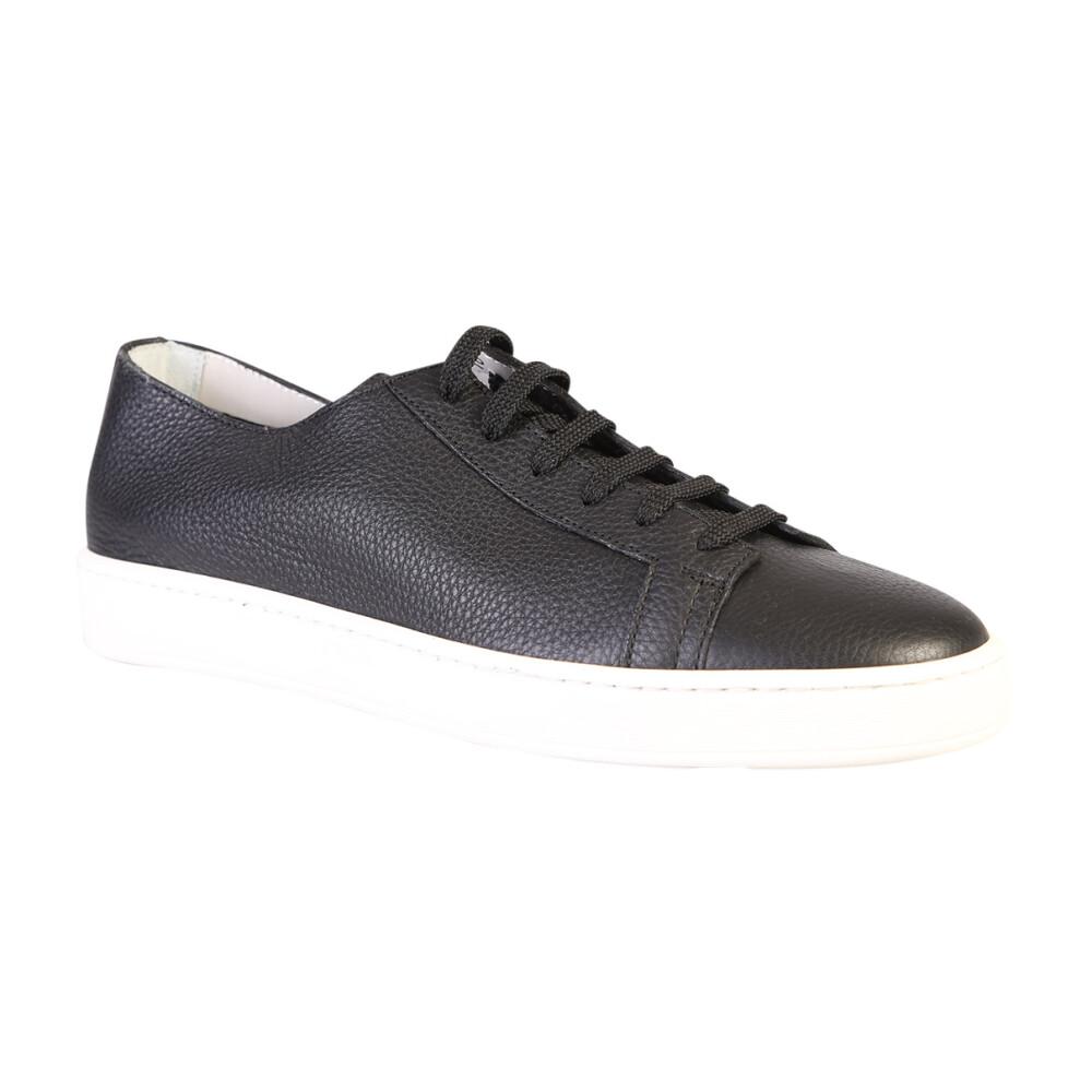 Miehet Kengät Black Sneakers Santoni Tennarit Miinto