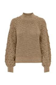 Onlfreeze L/S Highneck Pullover Knit