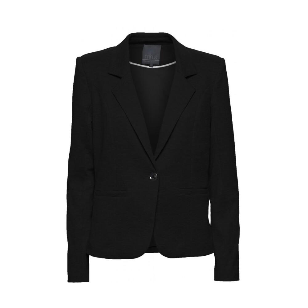 Carmen blazer - Black Minus Blazer til Kvinder i Sort