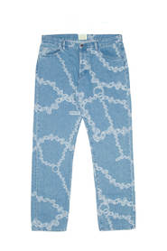 Lilly Chain Print jeans