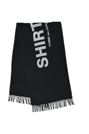 Scarf with Wool Logo