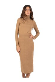 Mou longuette knit dress