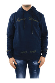 Chain Embroidery Hoodie