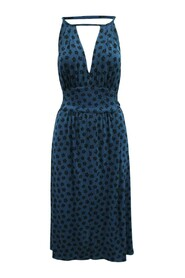Floral Print Midi Dress -Pre Owned Condition Very Good