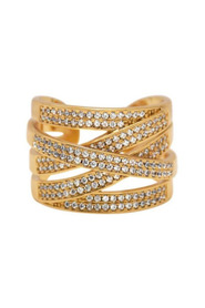 Shimmer Cubic Ring Diverse