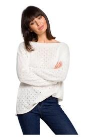 Sweter z oczkami