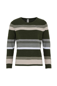 O-Neck Classic Striped Jumper