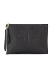 Clutch bag made of vegan leather