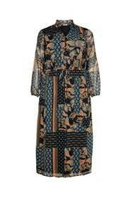 Maxi dress Curvy printed