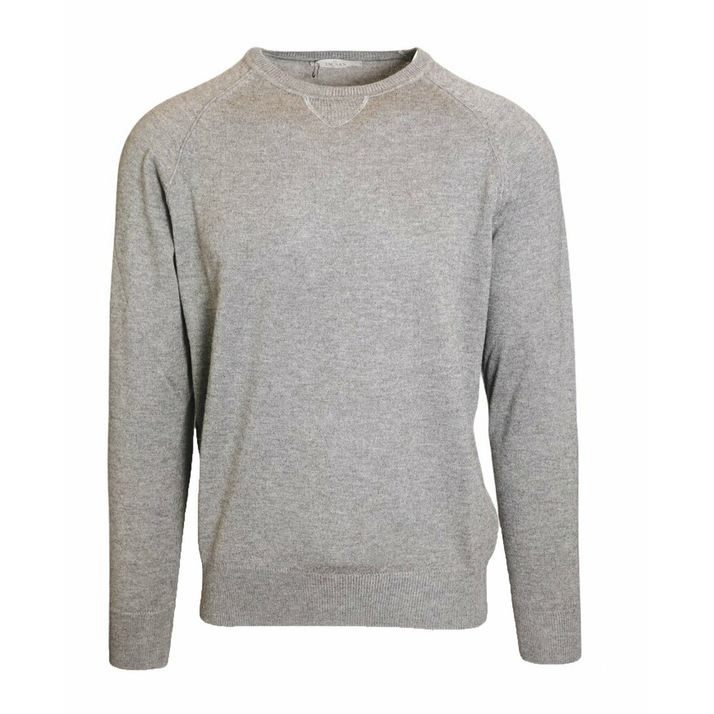 Crewneck sweater in cashmere and silk blend J.w.sax Milano