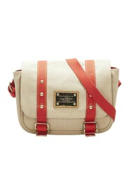 Pre-owned Antigua Besace PM Fabric Canvas